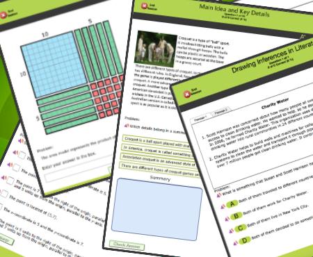 Florida Standards Assessment   Online Practice Tests