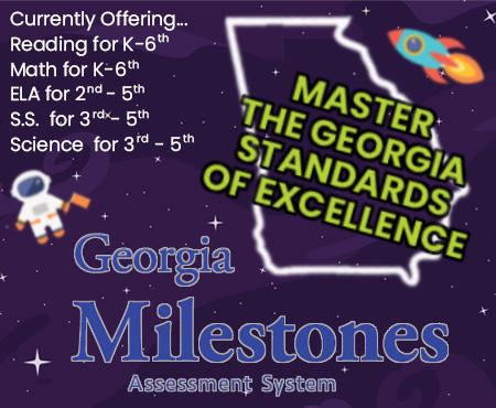 Georgia Milestone Test | GMAS Practice | Education Galaxy